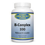 B-Complex 100 by Vitamin Discount Center -  100 Capsules Vitamin B