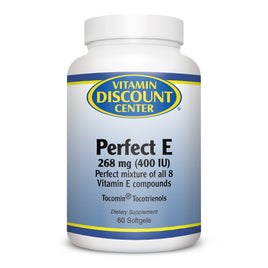 Perfect E Vitamin E Mixed Tocotrienols by Vitamin Discount Center - 60 Softgels