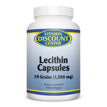 Lecithin Capsules 19 Grain by Vitamin Discount Center - 100 Softgels