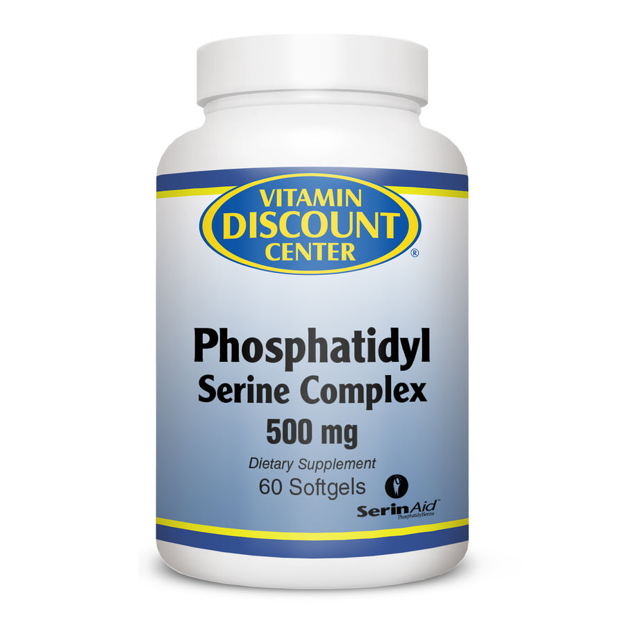 Phosphatidyl Serine Complex 500 mg by Vitamin Discount Center 60 Softgels