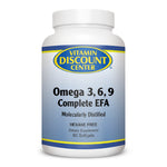 Omega 3 6 9 Complete EFA By Vitamin Discount Center - 60 Softgels