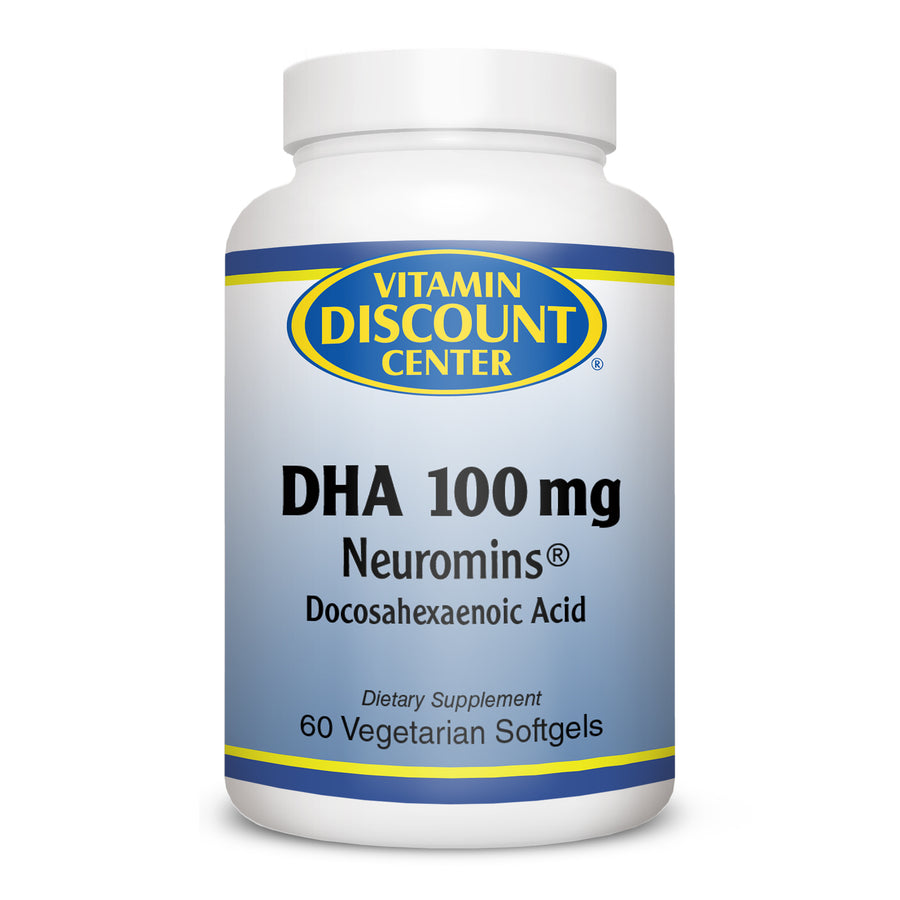 DHA 100 mg Neuromins by Vitamin Discount Center 60 Softgels