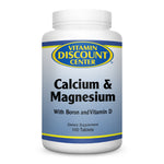 Hi-Potency Calcium & Magnesium By Vitamin Discount Center - 100 Tablets