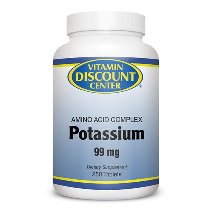 Potassium 99mg by Vitamin Discount Center - 250 Tablets