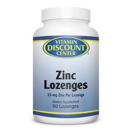 Zinc Lozenges 15 mg by Vitamin Discount Center - 60 Lozenges