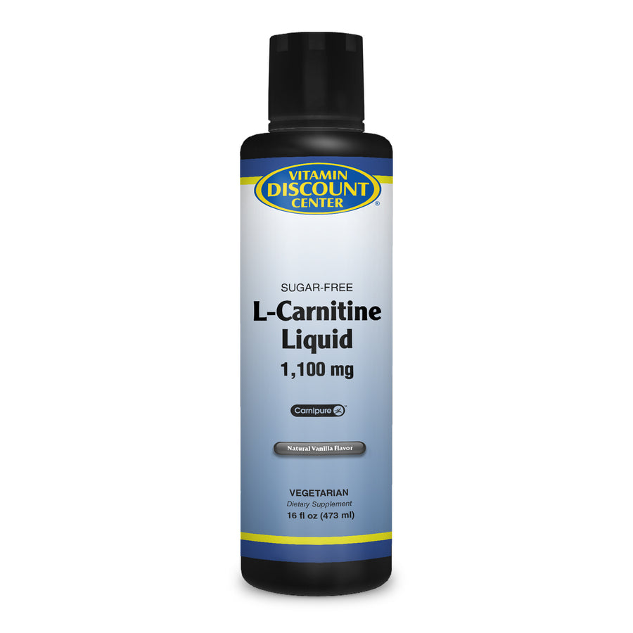 L-Carnitine Liquid by Vitamin Discount Center - 16 Fluid Ounces