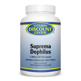 Vitamin Discount Center Suprema Dophilus Probiotic Blend - 120 Capsules