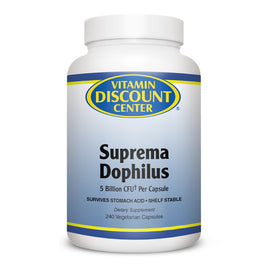Suprema Dophilus Probiotic Blend by Vitamin Discount Center - 240 Capsules