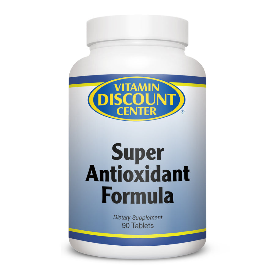 Super Antioxidant Formula by Vitamin Discount Center 90 Tablets