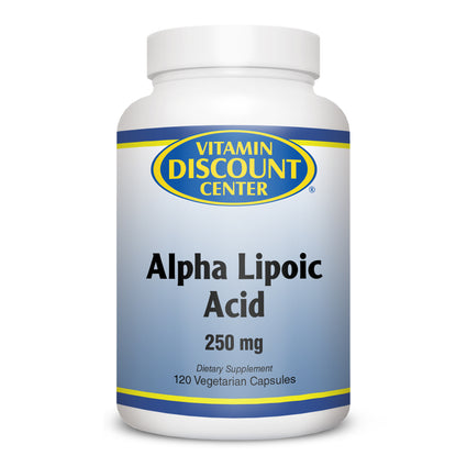 Alpha Lipoic Acid 250 mg by Vitamin Discount Center - 120 Vegetarian Caps