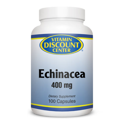 Echinacea 400 mg by Vitamin Discount Center 100 Capsules