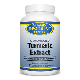 Tumeric Extract by Vitamin Discount Center - 120 Capsules Curcumin C3 Complex