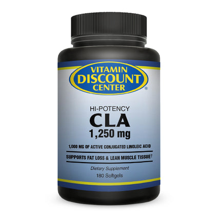 CLA 1250 mg By Vitamin Discount Center - 180 Softgels