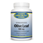 Olive Leaf 500mg by Vitamin Discount Center - 120 Capsules