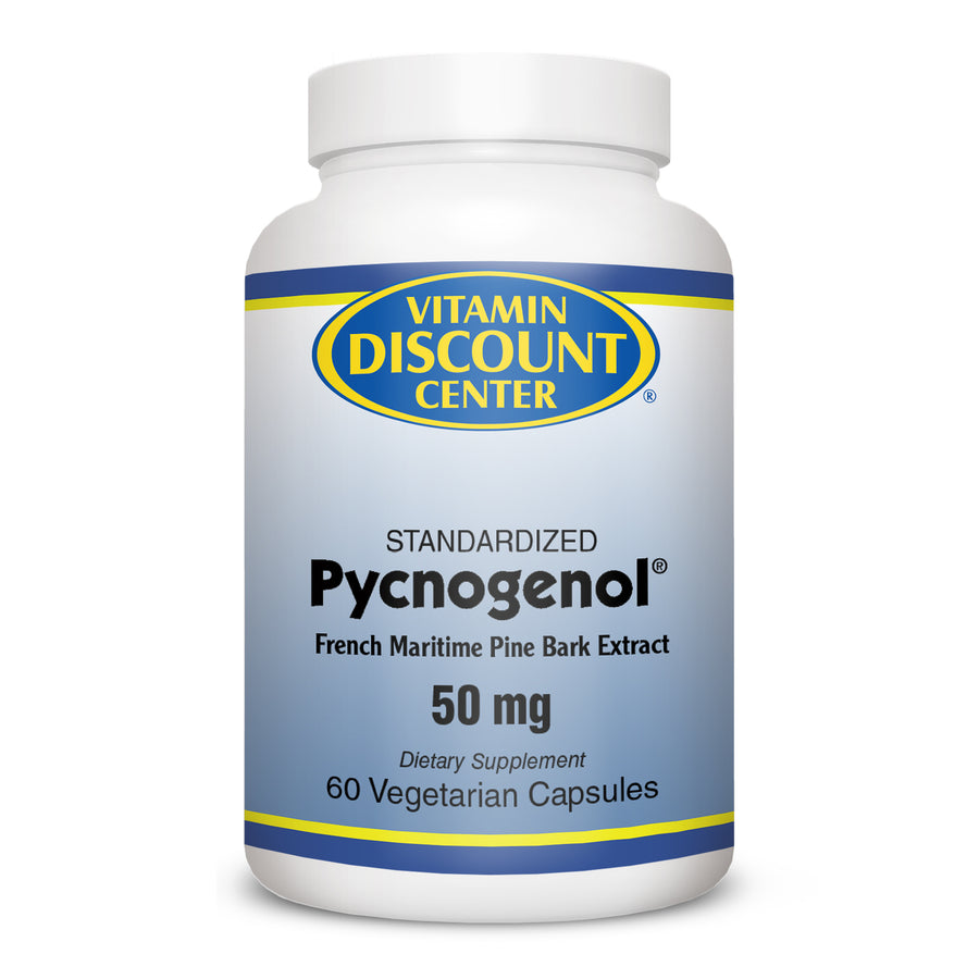 Pycnogenol (50mg) by Vitamin Discount Center - 60 Capsules