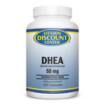 DHEA 50mg By Vitamin Discount Center - 120 Capsules