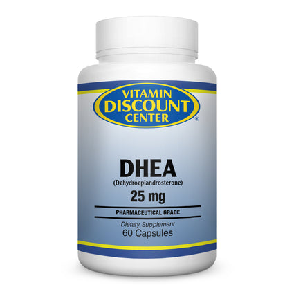 DHEA 25 mg by Vitamin Discount Center 60 Capsules