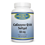 CoEnzyme Q10 50mg by Vitamin Discount Center - 60 Softgels COQ10