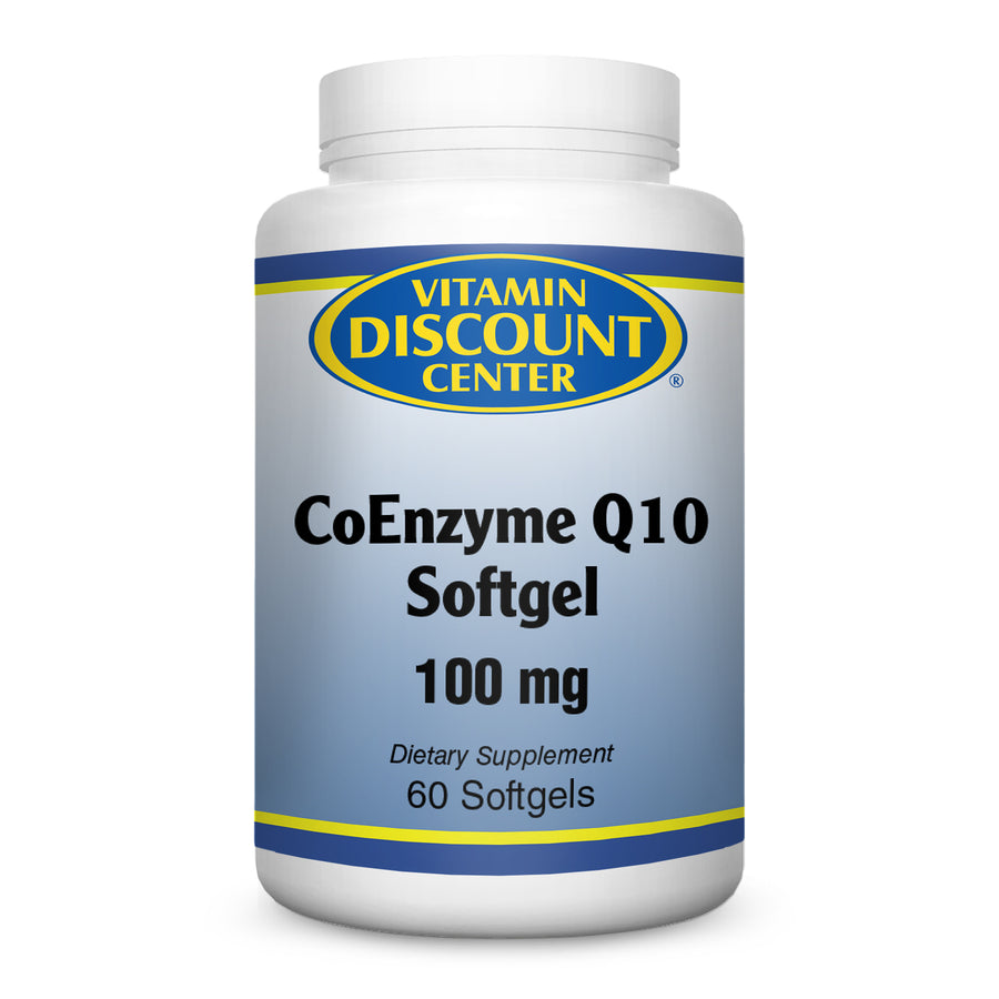 CoEnzyme Q 10 100mg by Vitamin Discount Center - 60 Softgels COQ10
