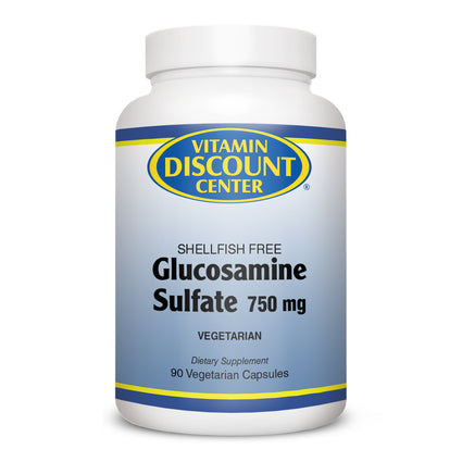 Glucosamine Sulfate 750 mg by Vitamin Discount Center 90 Capsules