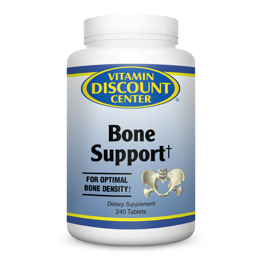 Bone Support By Vitamin Discount Center - 240 Tablets