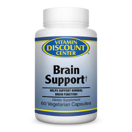 Brain Support by Vitamin Discount Center 60 Tablets
