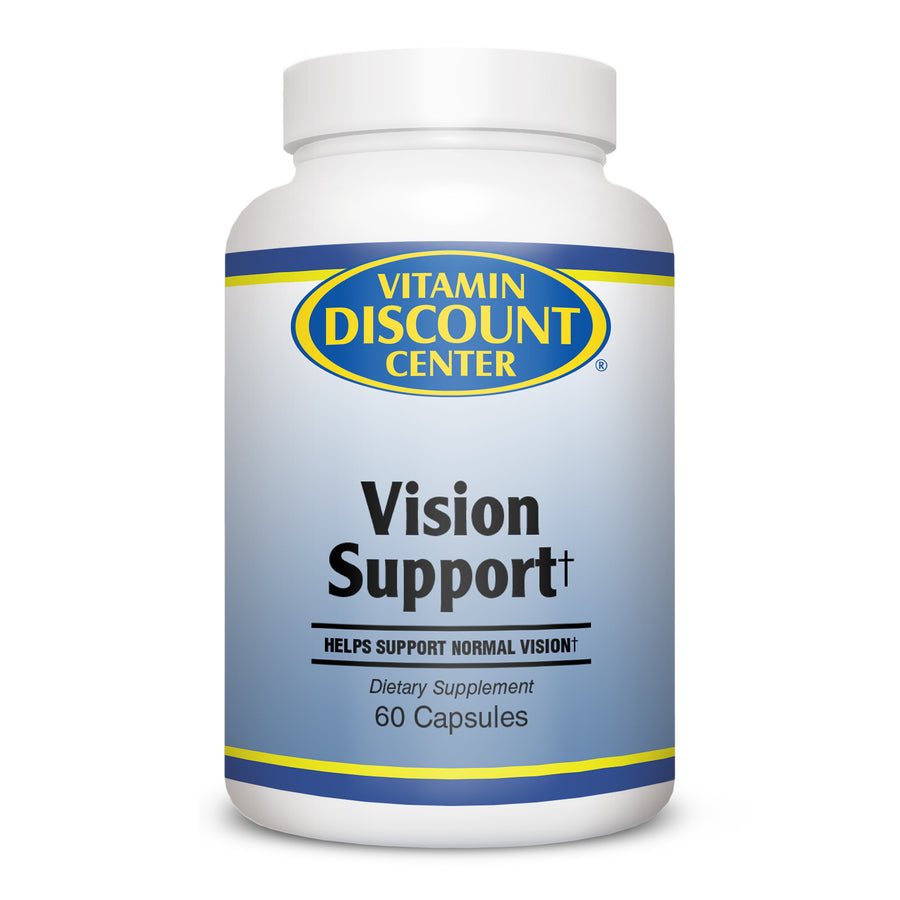 Vision Support by Vitamin Discount Center - 60 Capsules
