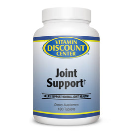 Joint Support Formula Glucosamine MSM by Vitamin Discount Center - 180 Tablets