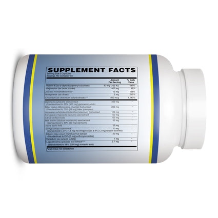 Glucose Support by Vitamin Discount Center 120 Capsules