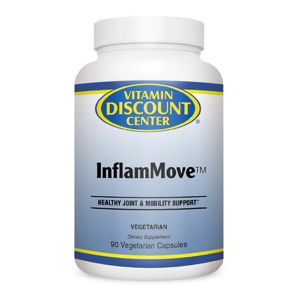 Vitamin Discount Center Inflammove with Turmeric Ginger Boswellia  90 Capsules