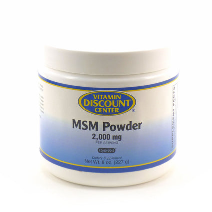 MSM Powder by Vitamin Discount Center - 8 Ounces
