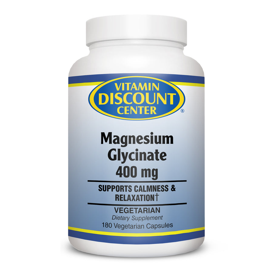 Vitamin Discount Center Magnesium Glycinate  - 180 Capsules