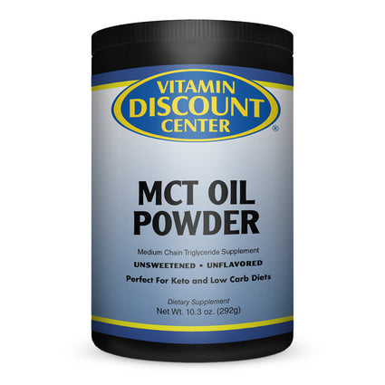 Vitamin Discount Center Unflavored MCT Oil Powder - 10.03 Ounces