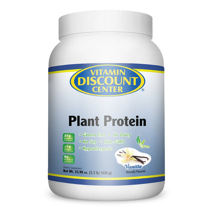Vitamin Discount Center Plant Protein Vanilla - 2.2 lbs