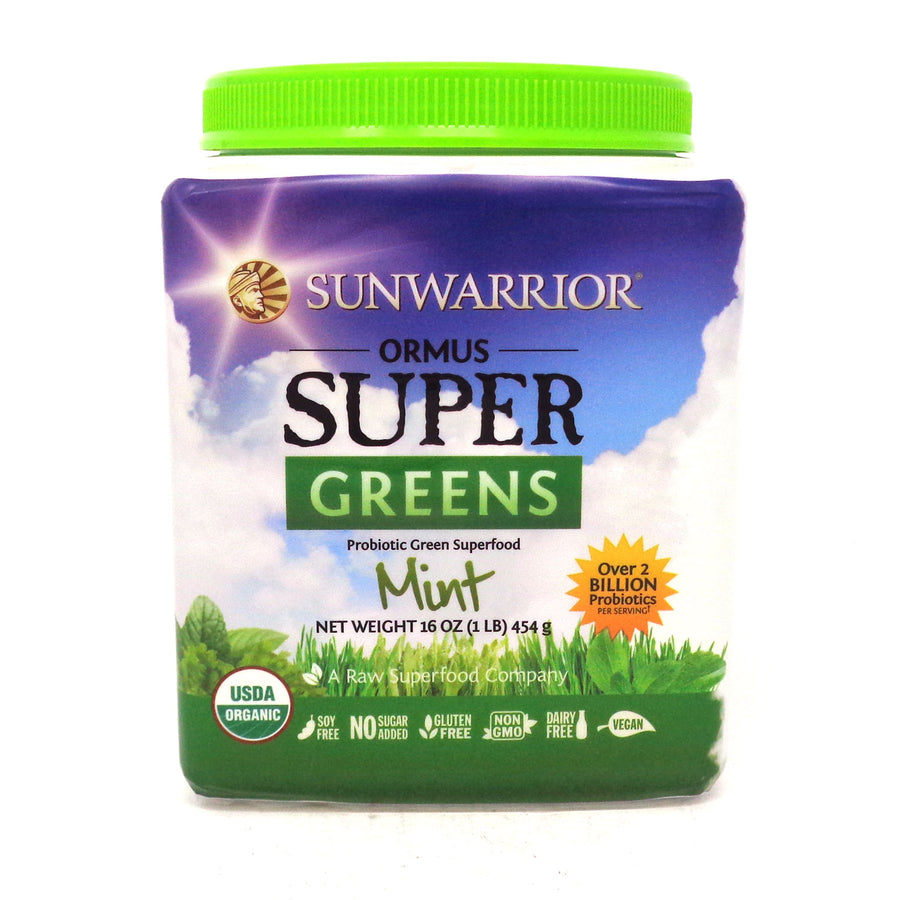 Sunwarrior - Ormus Supergreens Mint - 1 Pound