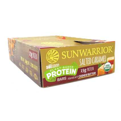 Sun Warrior SOL Good Salted Caramel bar   2.04oz