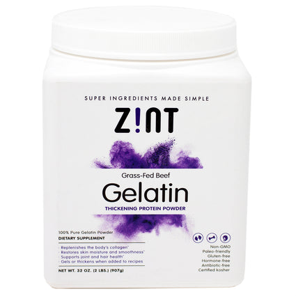 Beef Gelatin By Zint - 2 Pounds