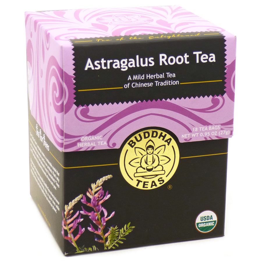 Astragalus Root Tea  by Buddha Teas - 18 Tea Bags