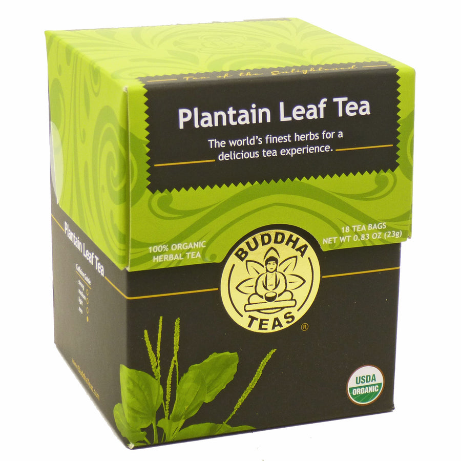 Plantain Leaf Tea by Budda Teas - 18 Tea Bags