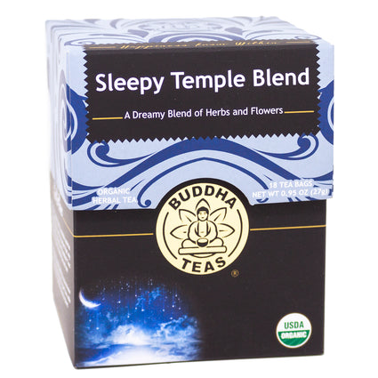 Buddha Teas Sleepy Temple Blend  -18 Tea Bags
