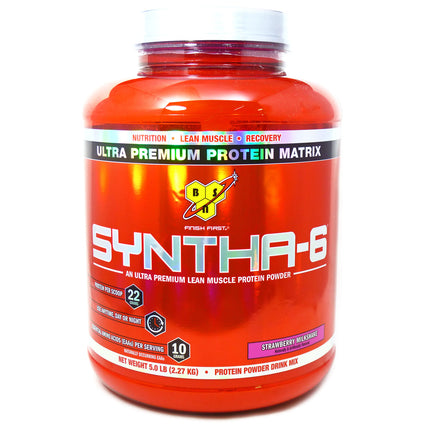 Syntha6 Strawberry By BSN Inc. - 5.04 Pounds