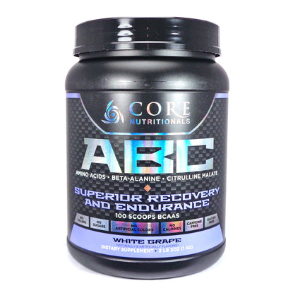 ABC White Grape By Core Nutritionals - 50 Servings