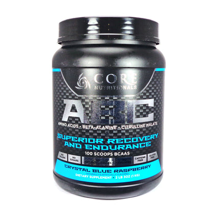 ABC Blue Raspberry By Core Nutritionals - 50 Servings