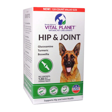 Hip and Joint by Vital Planet - 120  Tablets
