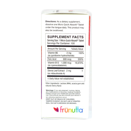 B12 by frunutta - 100 Tablets