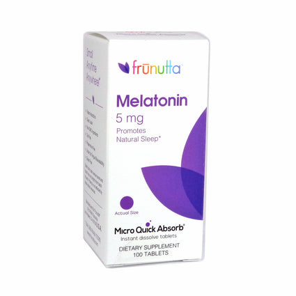Frunutta Melatonin by Frunutta - 100 Tablets