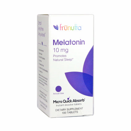 Frunutta Melatonin 10 mg By Frunutta - 100 Tablets
