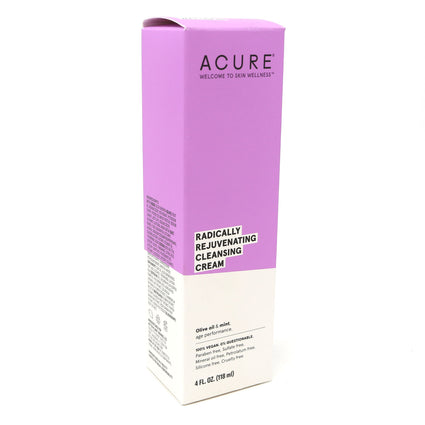 Argan Oil and Mint Facial Cleansing Creme by Acure - 4 Fluid Ounces
