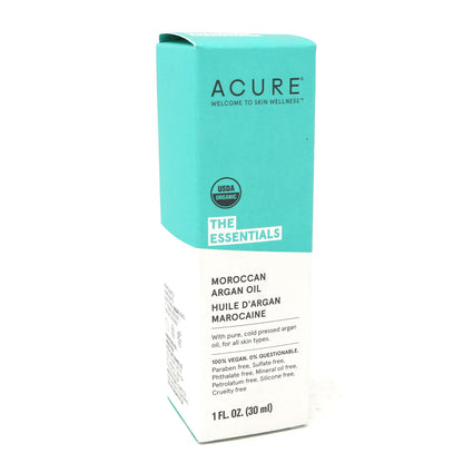 Argan Oil Organic Moroccan By Acure - 1 Ounce