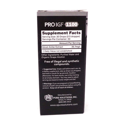 Pure Solutions Pure Factors Pro IGF 1100 - 1 Ounce
